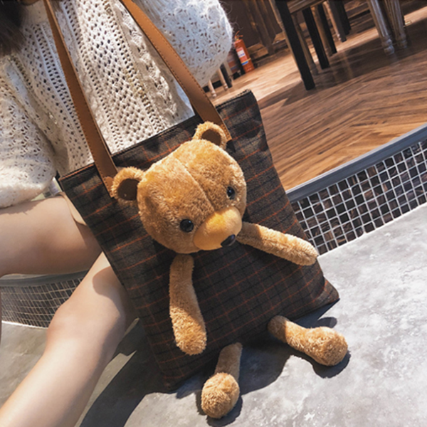 Retro bear bag DB4891