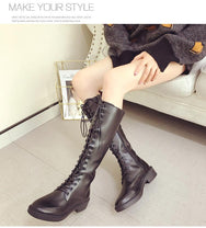 Lace-up chunky boots DB3031