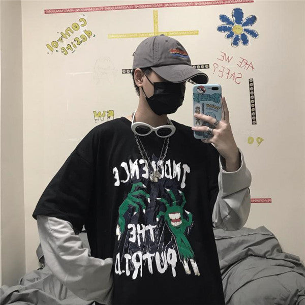 Couple's Monster Paw Long Sleeve T-Shirt DB5204