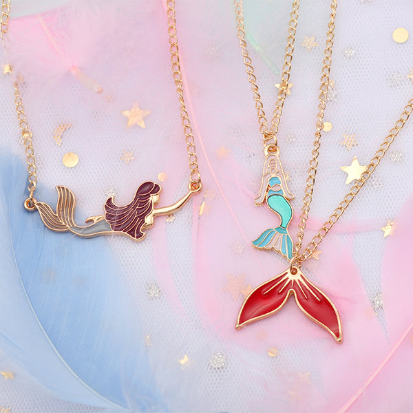 Mermaid necklace DB5656