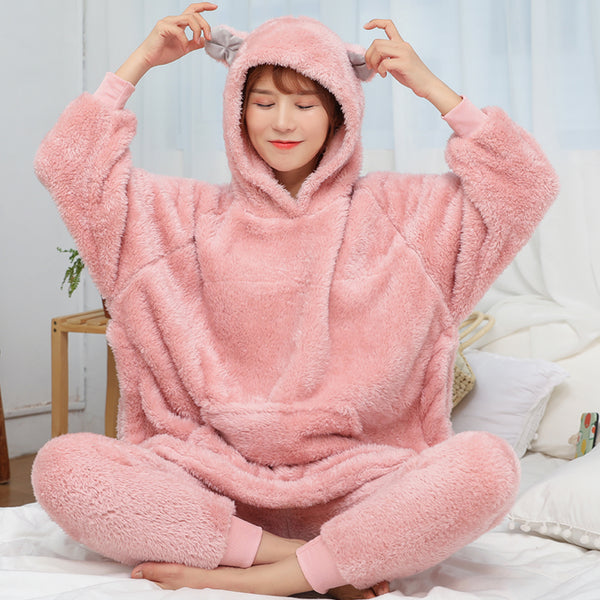 Kawaii plush pajamas DB6065