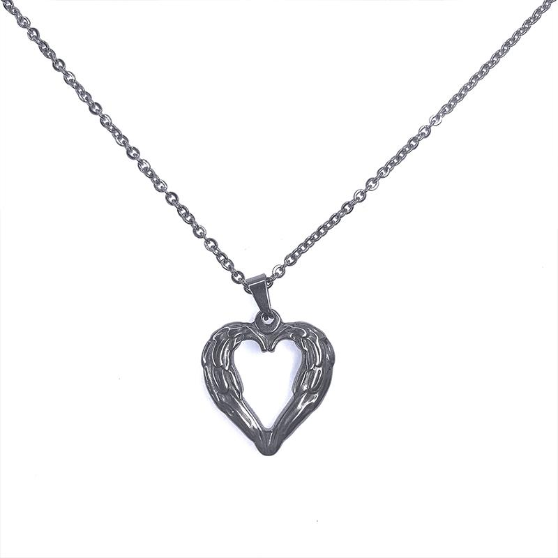 Love heart necklace DB3038