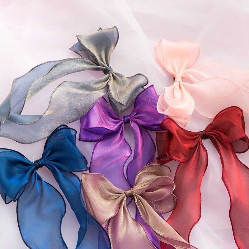 Lolita bow streamer hairpin DB4507