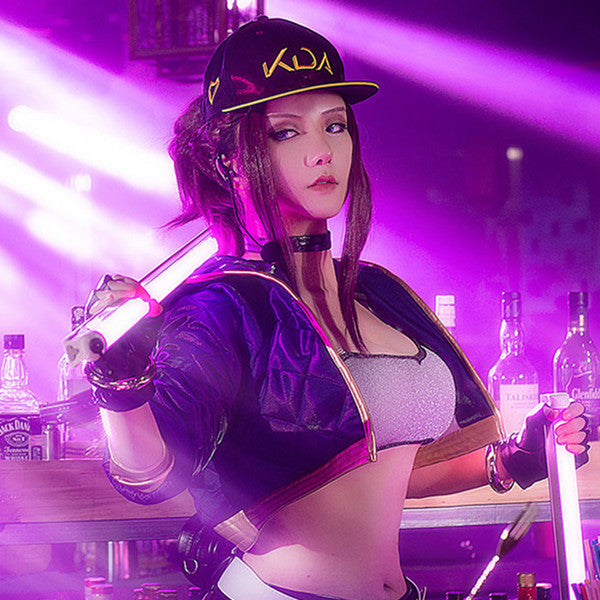 Akali cosplay hip-hop hat DB5112