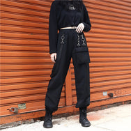 Punk chain casual pants DB5423