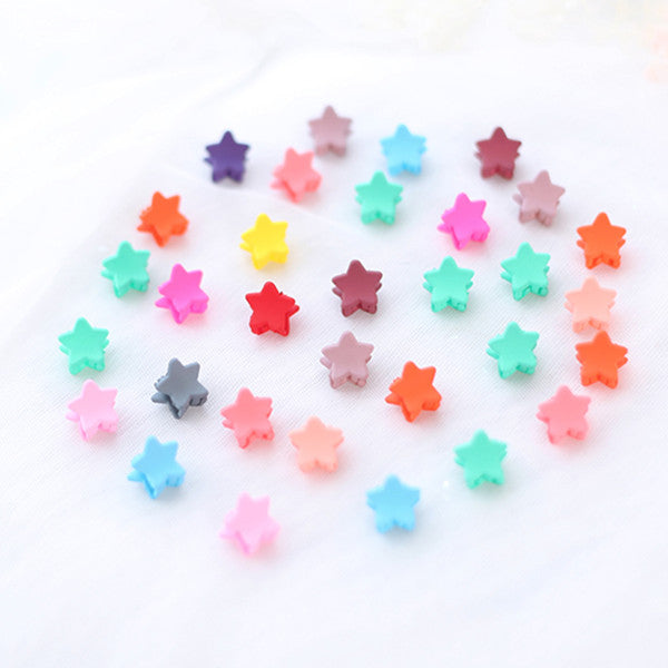 Candy-colored small hair clip DB5262