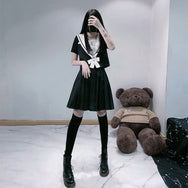 Dark Academy Uniform Skirt DB4167