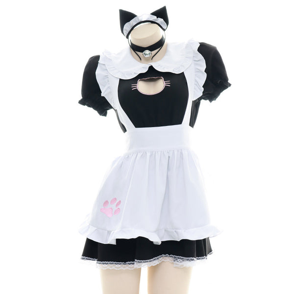 Cat maid costume cos dress DB5874