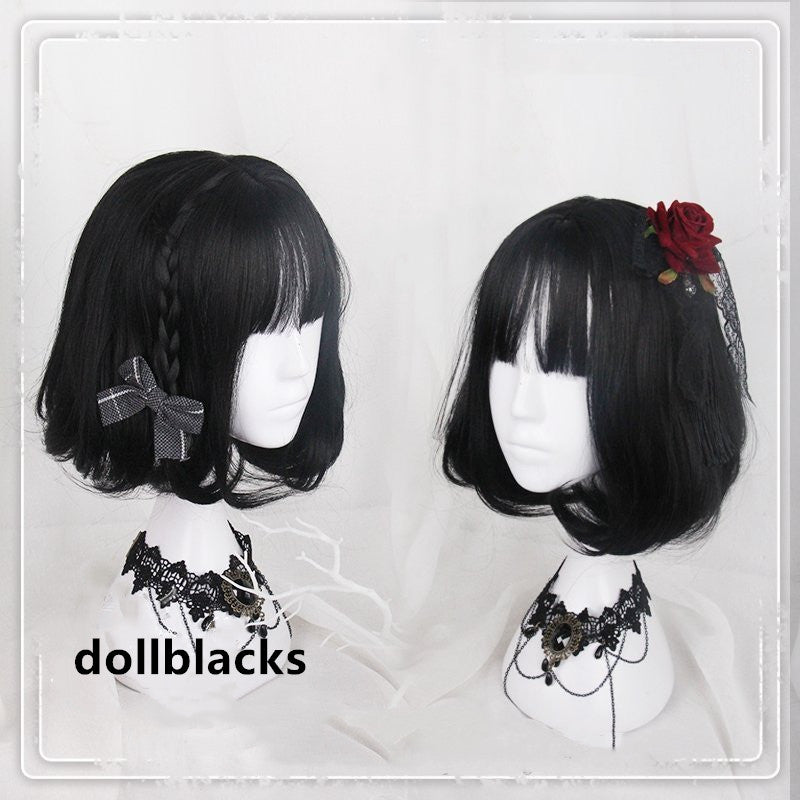Lolita Natural Black Short Wig DB4872