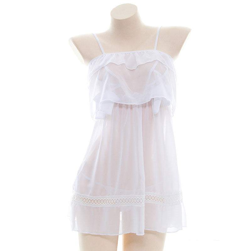 Sexy chiffon nightdress set DB4663