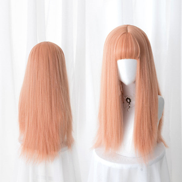 Harajuku Lolita long straight hair wig DB4879