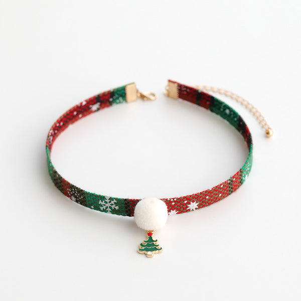 Cute Christmas necklace DB6281