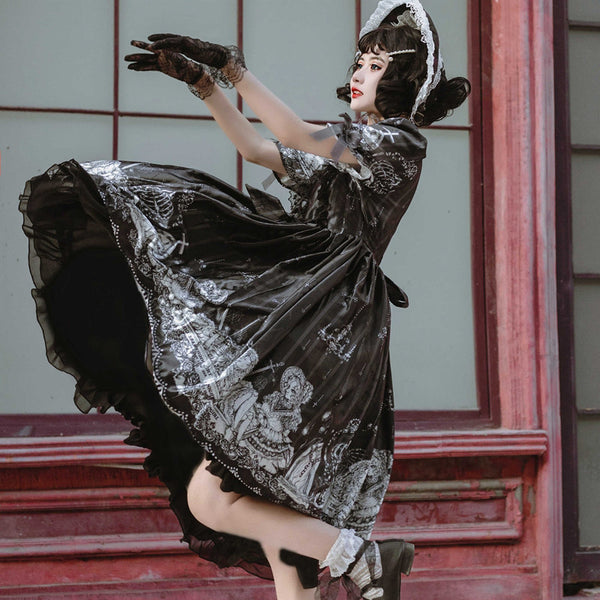 Dark Lolita Dress Suit DB6068