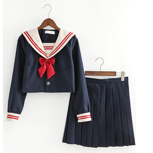 Dark dark ochre sailor suit DB4144