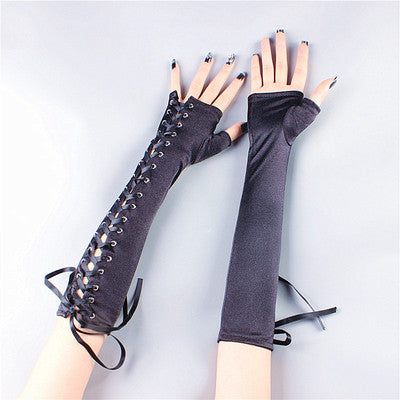 Punk strap gloves DB4027