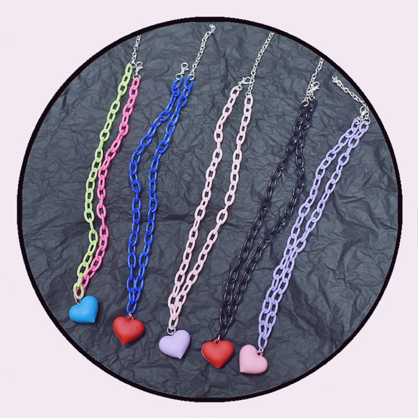 Love chain clavicle chain DB6029