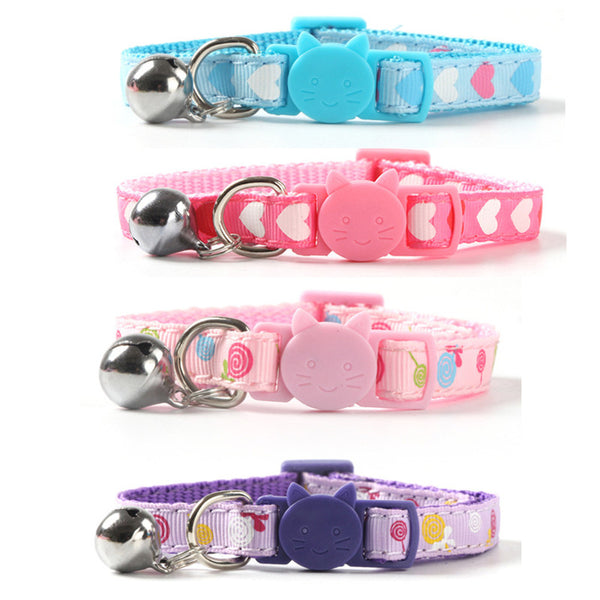 Pink Purple Blue Cat Clavicle Collar DB5999