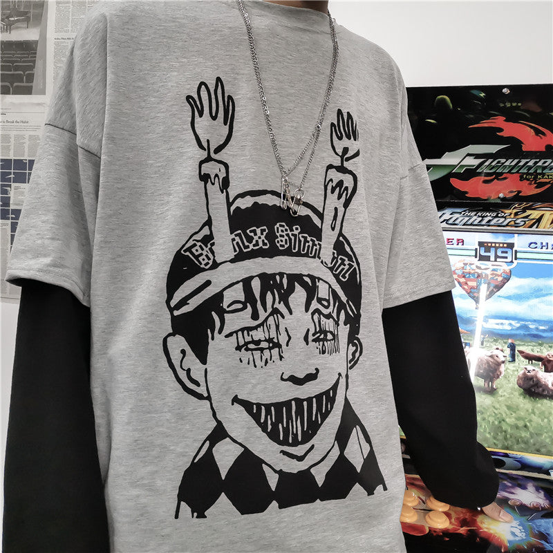 Unisex Comic Long Sleeve T-Shirt DB5067