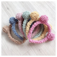 Wild hair ball headband DB4860