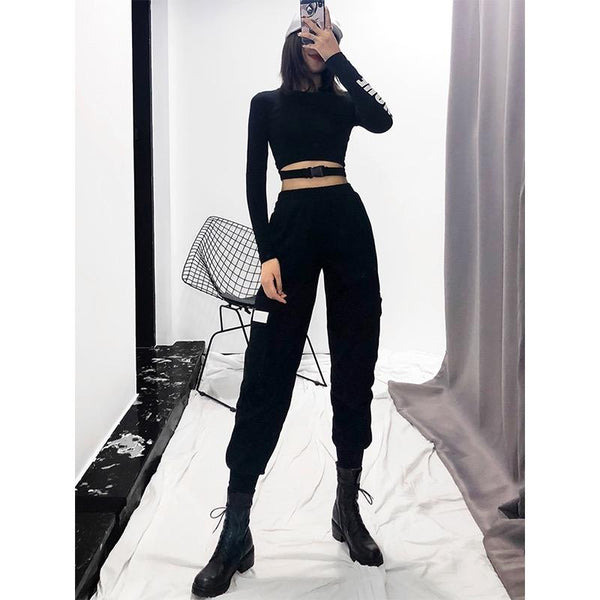 Ulzzang tooling pants DB2074