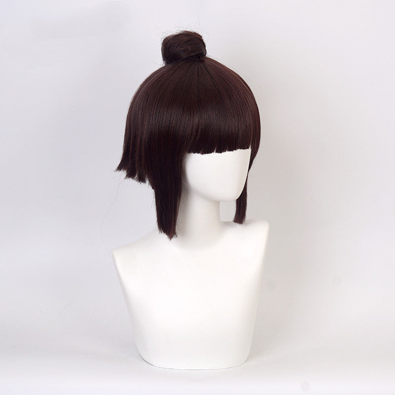 ONMYOJI COS Dark Brown Wig DB5872