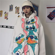 STITCH HOODED SWEATSHIRT DB5123