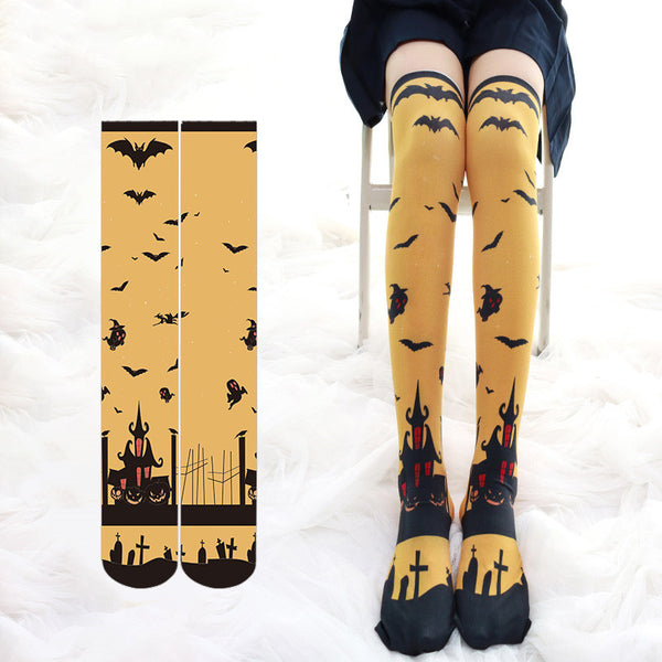 Halloween cos painted socks DB6026