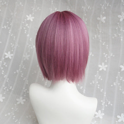Thin vine short straight wig DB4106