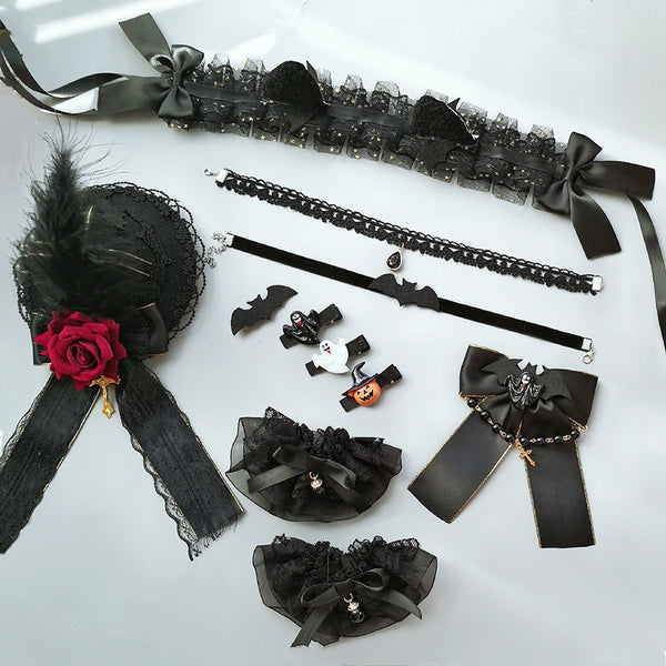 Halloween little devil hairpin hair band DB6005