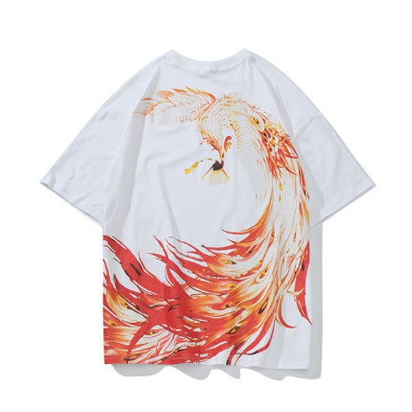 Unisex Phoenix 3D printing short-sleeved T-shirt DB5089