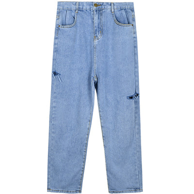 Punk Hole Jeans DB4197