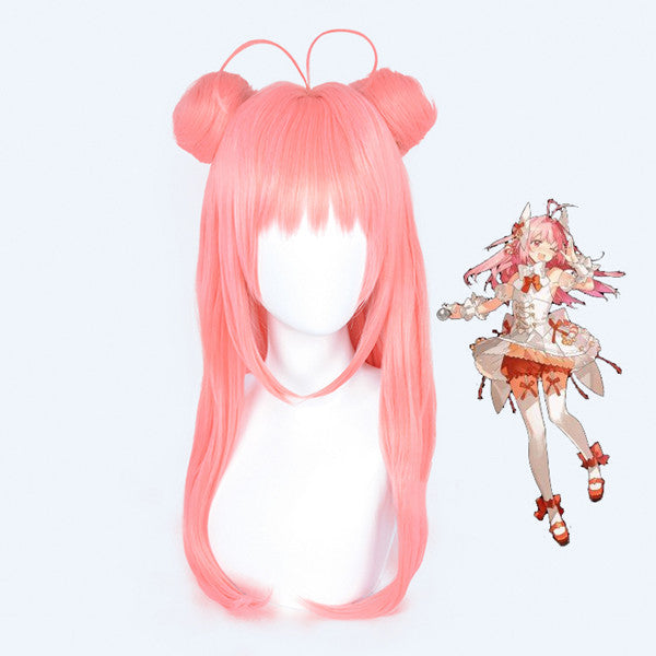 Mobile Games Food Language COS Pink Wig DB5638