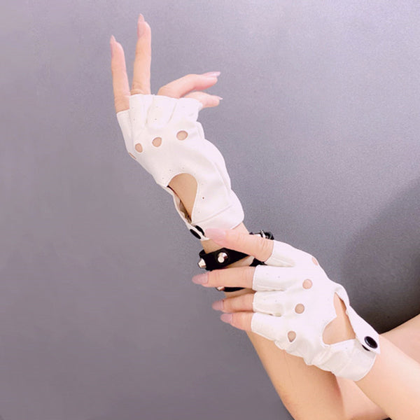 Dark Lolita Half Finger Gloves DB6014