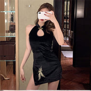 sleeveless cheongsam DB4861