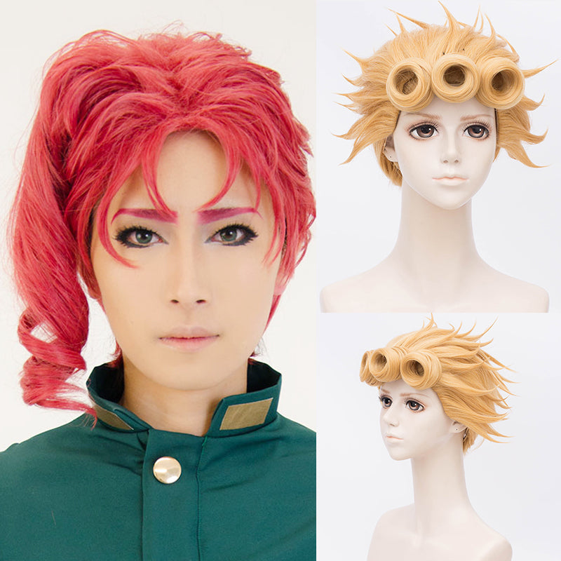 JOJO's wonderful adventure cos wig  DB4374