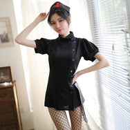 Dark sexy nurse COS uniform skirt DB4530
