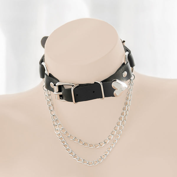 Love chain neck ring DB6097