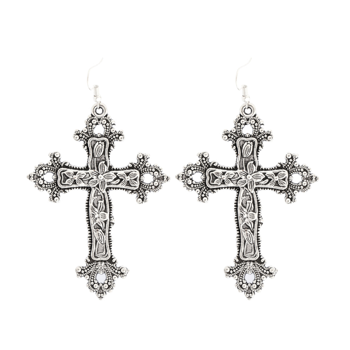 Cross earrings (pair) DB5443