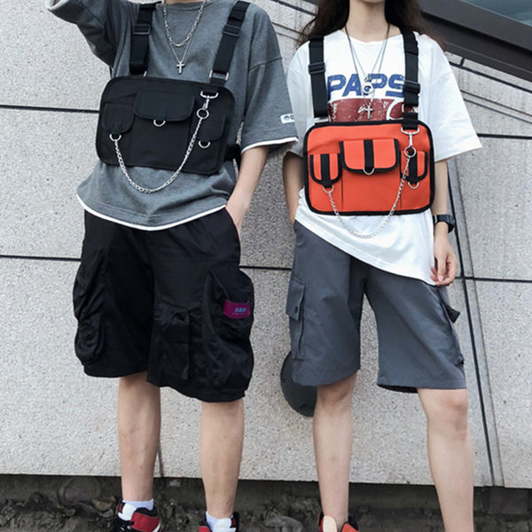 Couple style vest vest backpack DB6050