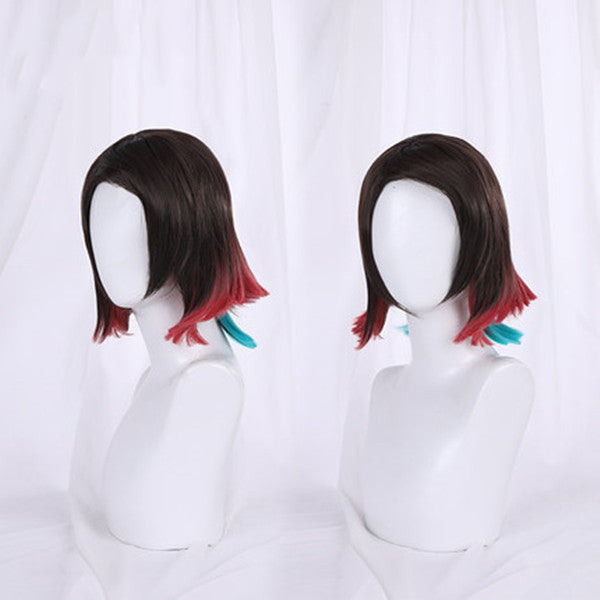 Demon Slayer cos Enmu wig DB5177