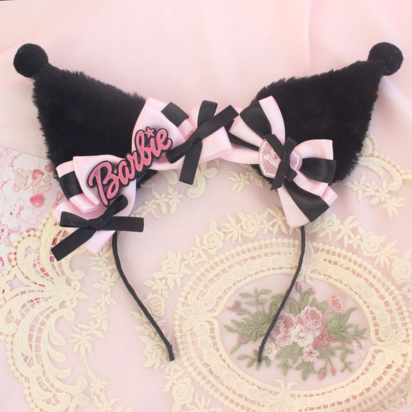 cos Kuromi ear headband DB5929