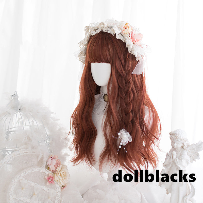 Lolita dark orange wig DB4870