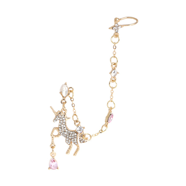 Unicorn chain earring DB5253