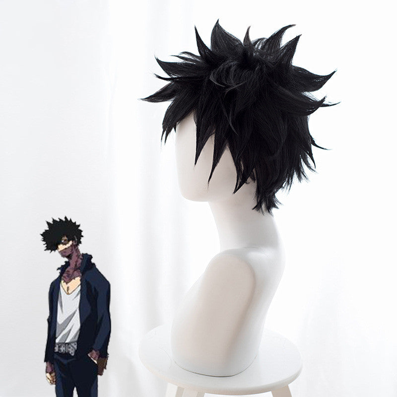 My Hero Academia cos dabi wig DB4848