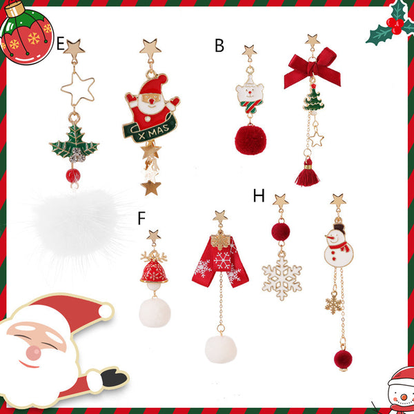 Cute Christmas earrings DB6279