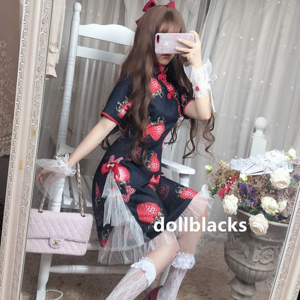 Lolita Strawberry Cheongsam DB5674