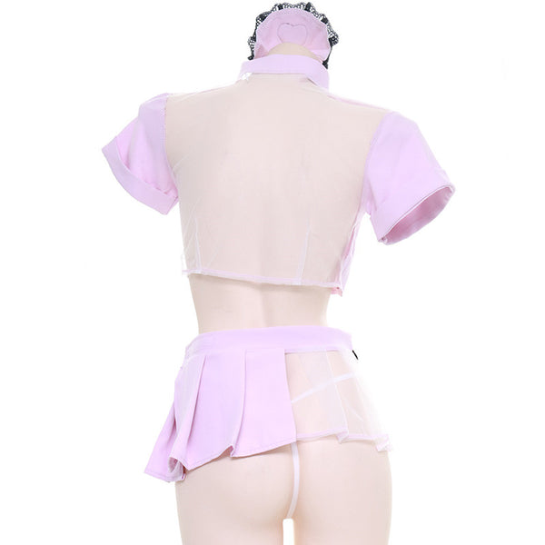 Sexy cos nurse uniform set DB5690