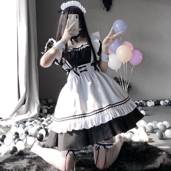 Cute sexy maid uniform DB6432