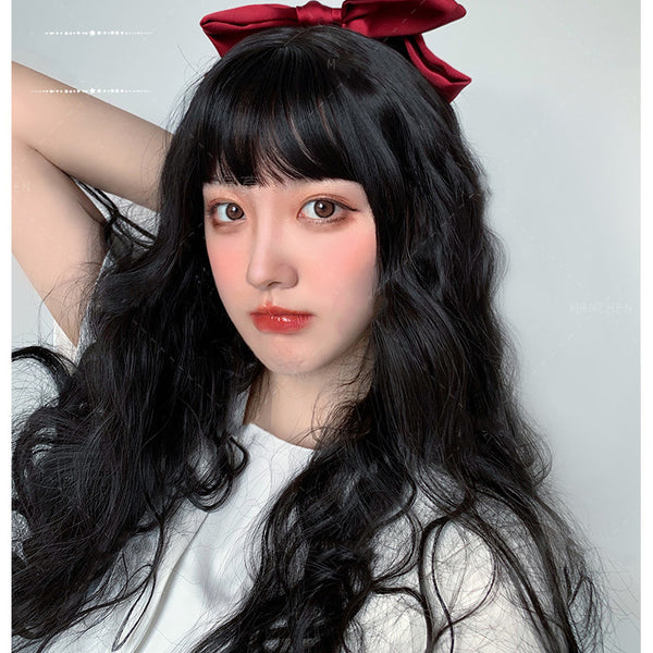 Lolita Natural Long Curly Hair Wig DB4877