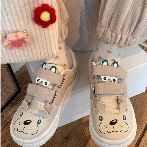Cute photo sticker shoes DB6920